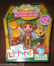 NEW Lalaloopsy Silly Funhouse Mini Ace Fender Bender & Money Figures Toy