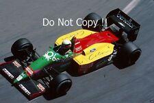 Teo Fabi Benetton B187 Grand Prix de Monaco 1987 photographie