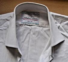 Charles Tyrwhitt white cotton shirt size 16 1/2 single cuff Jermyn Street 16.5
