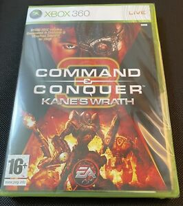 Command & Conquer: Kanes Wrath Xbox 360 Game New Sealed U.K. Pal