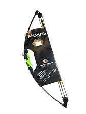 ASD Wildcat Kids / Child Compound Archery Bow 12Lbs Kit Set Inc Arrows & More