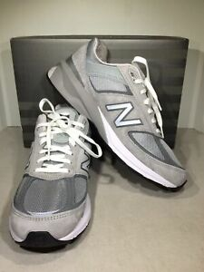 New Balance 990v5 Men's Size 11 Gray/White Athletic Running Shoes X6-1005