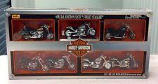Harley Davidson Special Edition FLSTF Street Stalker 1:18 Replica Set