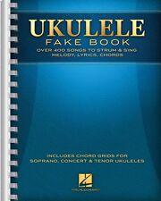 Ukulele Fake Book Sheet Music Full Size Edition Ukulele Book NEW 000138652