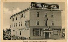 Canada Callander ON - Hotel old postcard
