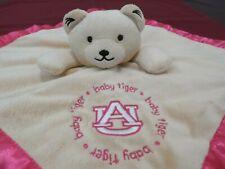 New listing Baby Fanatic Auburn University Baby Tiger Teddy Bear Security Blanket