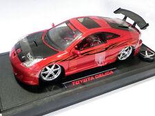 Toyota Celica con luces lights Import Racer escala 1/18