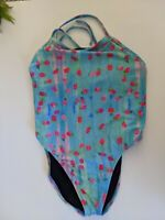 JOLYN Tie Back One Piece Jackson III 3 SWIMSUIT Careberry Strawberry RARE sz 34