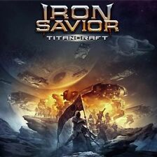 IRON SAVIOR - TITANCRAFT - CD DIGIPACK NEW SEALED 2016