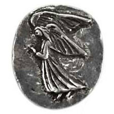 Guardian Angel Pocket Stone NEW Pewter Amulet Token Altar Prayer Coin - US Made!