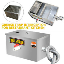 More details for commercial grease trap stainless steel waste fat interceptor restaurant takeaway