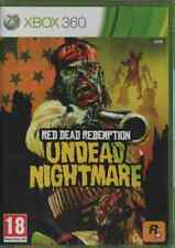 RED DEAD REDEMPTION UNDEAD NIGHTMARE XBOX 360 NEUF SOUS BLISTER D'ORIGINE VF