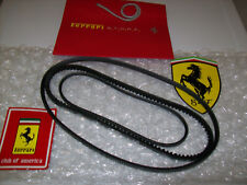 308 Gts / 328 Gts Ferrari water pump belt and alt belt /a/c belt Oem Set