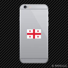 Georgian Flag Cell Phone Sticker Mobile Georgia GEO GE