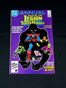 Tales of the Legion of Super Heroes '86 Annual 4 Newsstand NM
