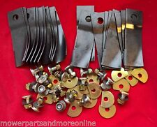 10 pair Honda 19 & 21 Inch HRU194 & HRU214 Combo Lawn Mower Blade & Bolt Set