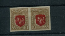 LITHUANIA  59  MLH  IMPERF PAIR  DOUBLE CENTER
