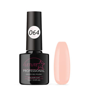 064 LETUTE™ Beige Pink Soak Off UV/LED Nail Gel Polish