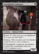 MTG Magic - (C) Dominaria - Stronghold Confessor FOIL - NM/M