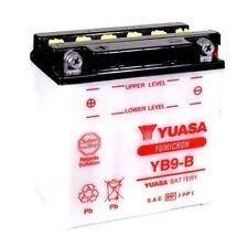 BATTERIA YUASA YB9-B  9AH 12V PER GILERA RTX(E-Starter) 125