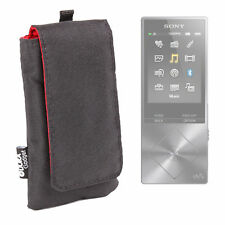 Water Resistant Case in Black for Sony Walkman NW-A26 |NW-A35R | NW-E394B