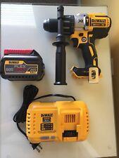 NEW Dewalt 20V XR DCD996 Hammerdrill - 60V Flexvolt DCB606 Battery - DCB118 Char