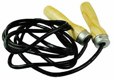 TRADITIONAL LEATHER SKIPPING ROPE per MMA Combattenti Professional Boxer Fitness