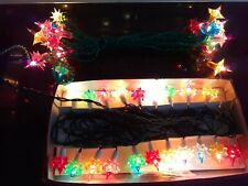 VINTAGE CHRISTMAS TREE LIGHTS. 2 sets. Pifco & Benevolence.  WORK. BOXED.(LOT J)