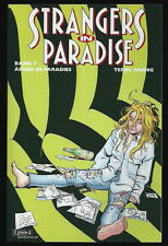STRANGERS IN PARADISE  # 7/'95-03 SPEED  PAPERPACK VARIANT-COVER
