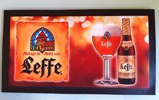 TAPIS de COMPTOIR BAR BIERE LEFFE 45 x 25 cm