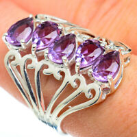 Color Change Alexandrite 925 Sterling Silver Ring Size 8.25 Jewelry R48379F