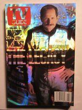 Dale Earnhardt Legacy Cover TV Guide Magazine Feb 16-22 2002 Hologram NASCAR