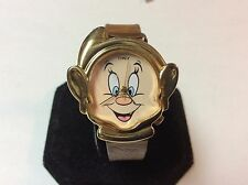 Collectible Disney Snow White dwarf watch,3D style,light wear/use,nice      C334