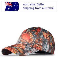 336abeda Quality Blaze Orange Camouflage Cap Hunting fishing Hiking Camping Camo  Baseball