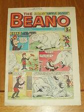 BEANO #1676 31ST AUGUST 1974 BRITISH WEEKLY DC THOMSON MAGAZINE