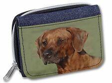 Rhodesian Ridgeback Dog Girls/Ladies Denim Purse Wallet Christmas Gift, AD-RR1JW