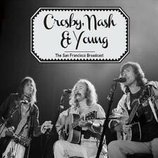 CROSBY, NASH & YOUNG ‎– THE SAN FRANCISCO BRODCAST LIVE (NEW/SEALED) CD