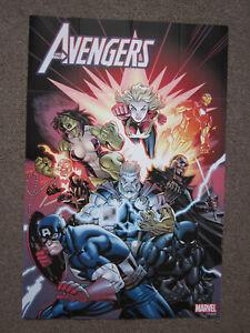 Marvel Comics Avengers Captain America Thor Captain Marvel Superhero Poster36x24