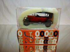 RIO 4 FIAT MODEL 501 S 1918 TORPEDO LUSSO - 1:43 - EXCELLENT IN UNOPENED BOX