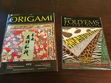 Origami Paper, Yasutomo, Fold-Em's, 2 New Packs