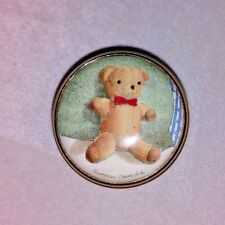 Halcyon Days Porcelain Trinket Box Teddy Bear Shireen Faircloth original box