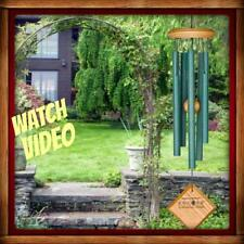 "Woodstock CHIMES OF MERCURY Verdigris WIND CHIMES 14"" NEW In Box"
