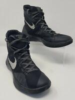 Mens NIKE HYPERDUNK 2015 Black Basketball Shoes Size 10