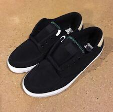 Lakai Belmont Size 13 Black Nubuck Skater Brady Belmont Shoes Sneakers Deadstock