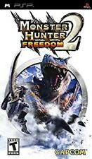 Monster Hunter - Freedom 2 PSP UMD PlayStation Video Game UK Release