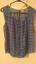 (#32) Candies sleeveless top. Size M. Nwt
