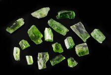 CHROME TREMOLITE, Gem Grade, Raw Crystals - Gemstones, Jewelry Making, 26035