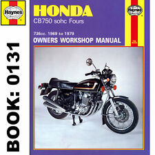 Honda CB750 CB750A CB750F CB750K SOHC Fours 1969-79 Haynes Workshop Manual