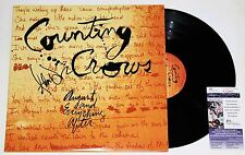 ADAM DURITZ SIGNED COUNTING CROWS AUGUST & EVERYTHING AFTER LP VINYL RECORD JSA