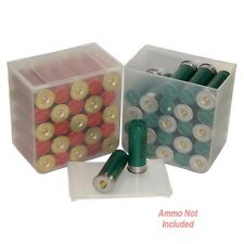 MTM SS2500 Clear Shotshell Ammo Box 25 Round (4 Pack)